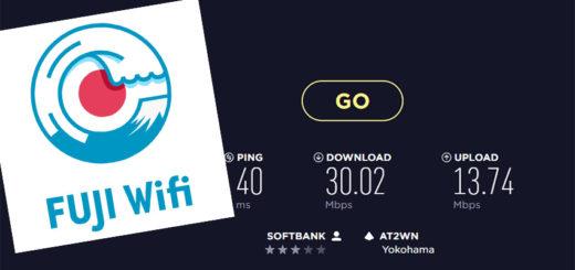 FUJI Wifi Biz 通信速度