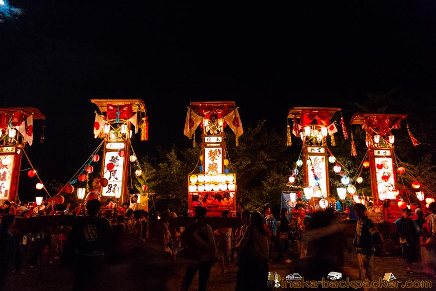 穴水町 キリコ祭り
