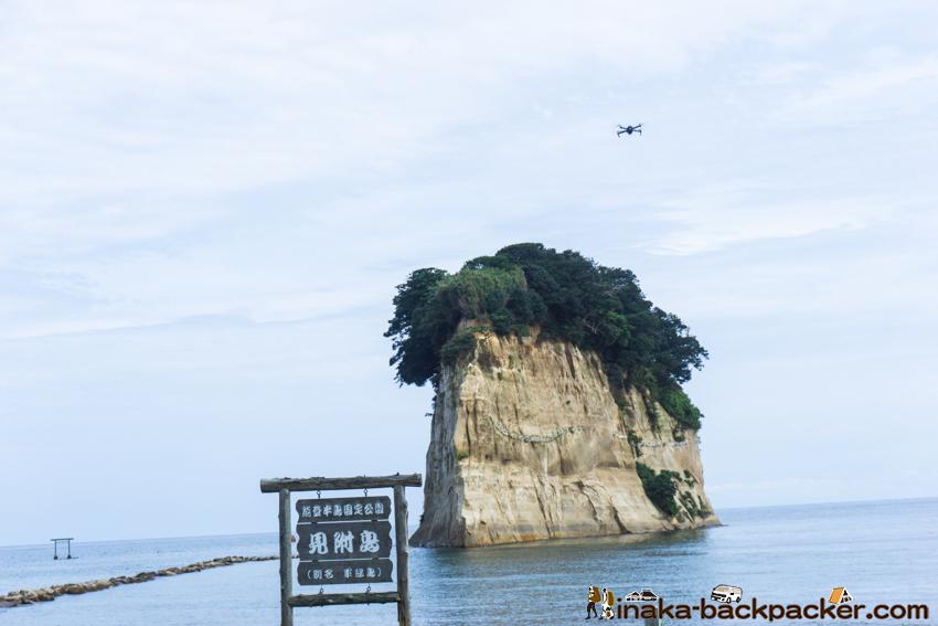 見附島 ドローン suzu drone