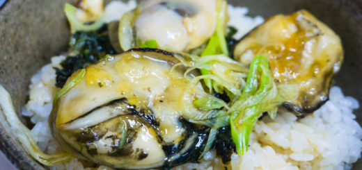 天然岩がき丼 牡蠣 珠洲 昼食