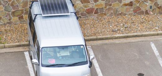 ハイエース ソーラーパネル Car Solar Panel