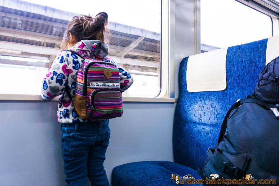 子供 4歳 旅人 バックパッカー kids backpacker traveler