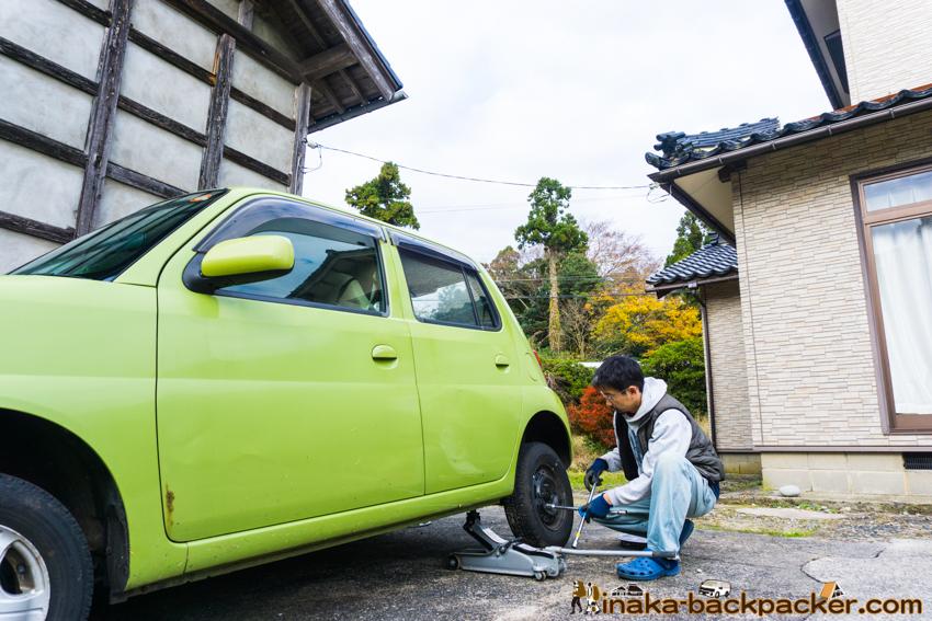 北陸 石川県 能登 穴水町 タイヤ 交換 時期 Winter tire