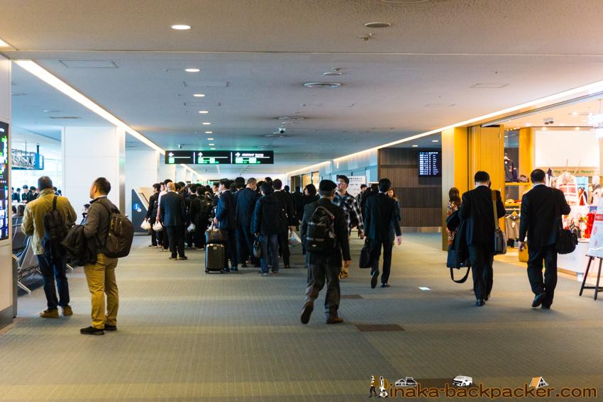 羽田空港 混雑具合 修学旅行 Haneda Airport Crowded
