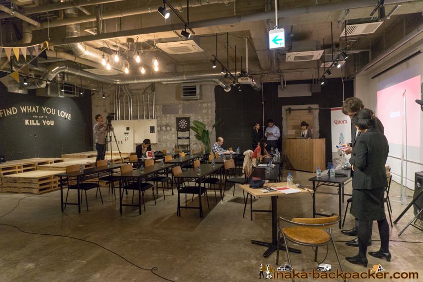 クォーラ 記者会見 会場 Quora Press conference in Japan