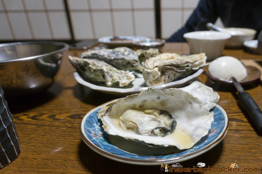 能登 穴水町 牡蠣 Noto Anamizu Oyster