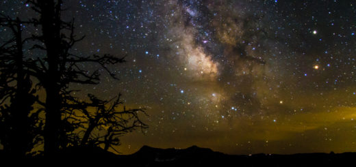 オレゴン クレーターレーク 星 Oregon Crater Lake