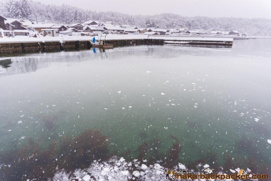北陸 穴水町 大雪 雪かき 漁師 Heavy Snow Ishikawa Anamizu