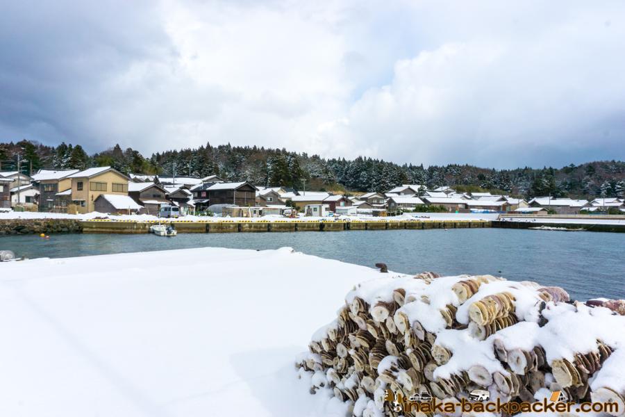 穴水町 岩車 石川県 極寒 寒波