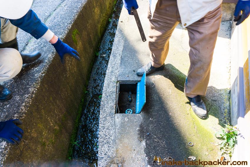 田舎 地方 井戸水 工事 パイプ 暮らし 水道 無料 生活 water bill 0 yen countryside in Japan