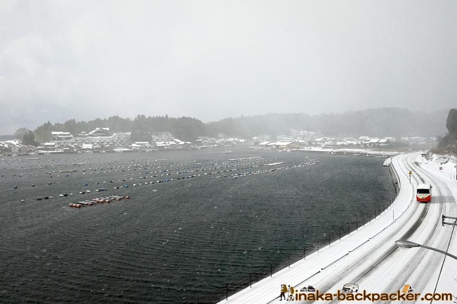 石川県 能登 穴水町 大雪 ポケットパーク 中居 Ishikawa Noto Anamizu Heavy Snow Nakai