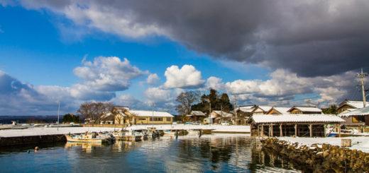 穴水町 岩車 雪 anamizu iwaguruma snow