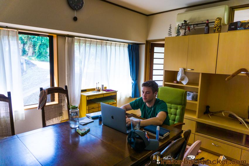 Connor Jessup in Noto Anamizu Japan コナージェサップ 石川県 能登 穴水町 珠洲 日本