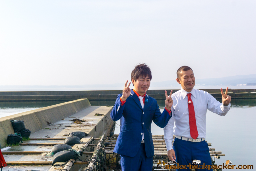 MRO 絶好調W U字工事 穴水町 牡蠣 Noto Ishikawa Anamizu Oyster