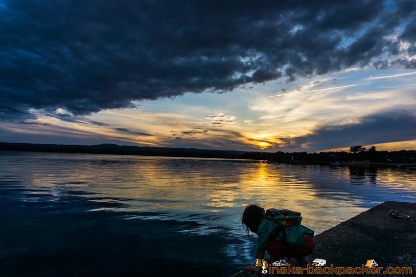 Iwaguruma Anamizu Japan 穴水町岩車の田舎 夕焼け綺麗 旅スポット