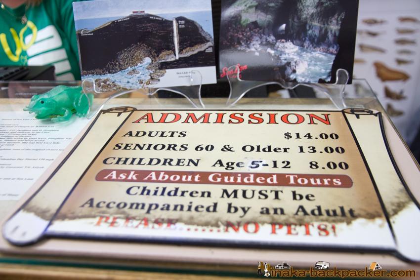 Oregon Sea lion Caves オレゴン アシカ トド 洞窟