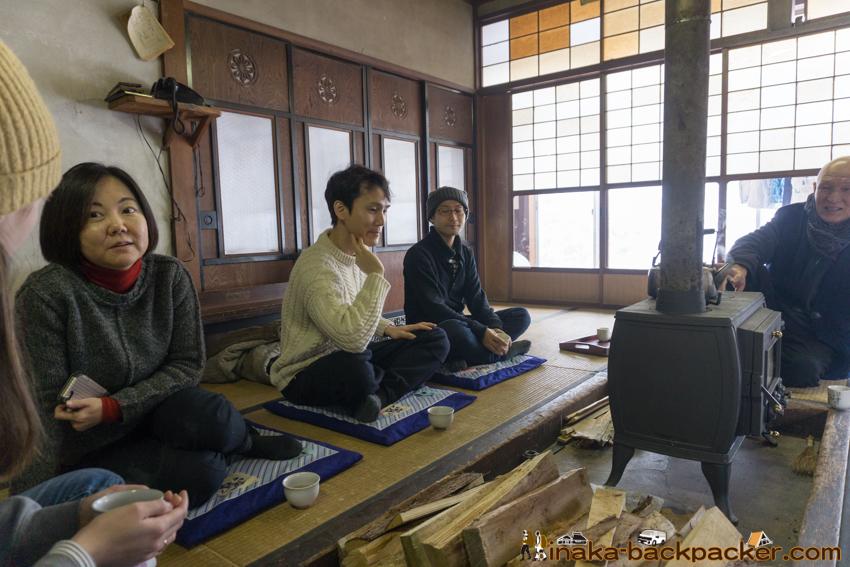 田舎体験 穴水町 輪島 龍昌寺 薪暮らし 薪ストーブ countryside lifestyle experience in Ishikawa Japan