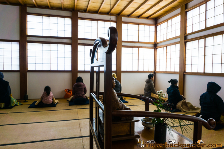 輪島 龍昌寺 座禅 meditation zen temple in Ishikawa Japan