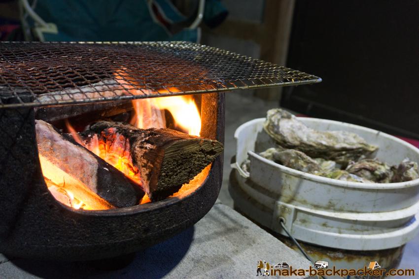 穴水町 牡蠣 Oyster in Anamizu