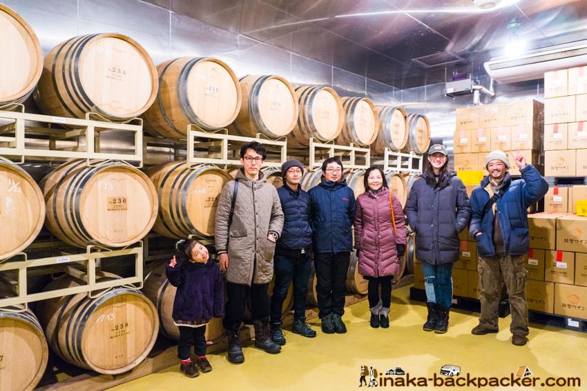 能登ワイン 醸造 工場 見学 穴水町 石川県 noto wine in Anamizu, Ishikawa