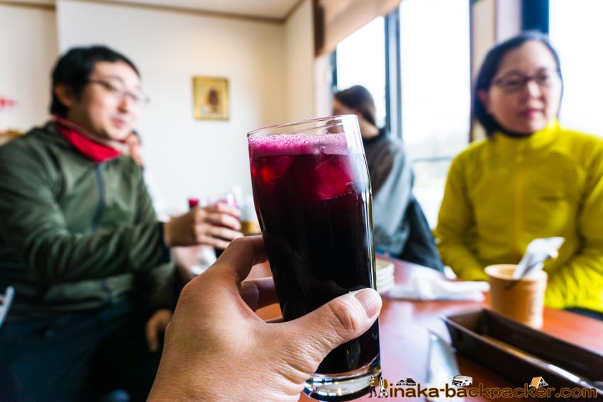 ヤマソーヴィニヨン ノンアル サングリア Lunch spot Georgian restaurant in Anamizu Ryu Cru リゥ・クリゥ ジョージア 穴水町 能登ワイン