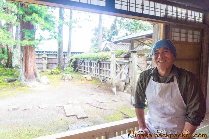 soba noodle in Notocho Wajima Ishikawa 中谷家 能登町 輪島 穴水 蕎麦 そばきり 仁 小林仁 中谷家