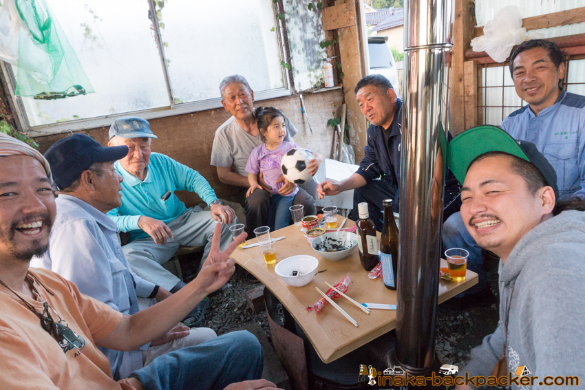 地方 田舎 バーベキュー BBQ in a countryside Noto Anamizu