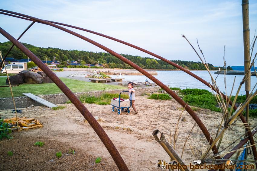 anamizu iwaguruma noto 穴水町 岩車 夕日 綺麗な田舎