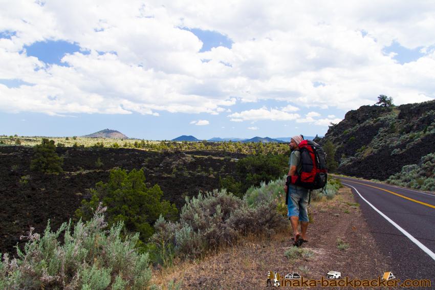 アメリカ ラバ・ベッズ国定公園 Lava Beds Dave Schober