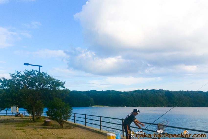 Anamizu camper van fishing travel tent spot 穴水町 車中泊 テント泊 バックパッカー 釣り