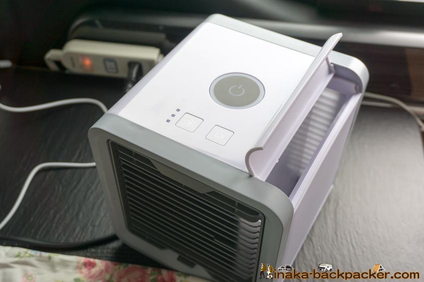 useless cooler ac summer item for camper van 買ってはいけない車中泊アイテム