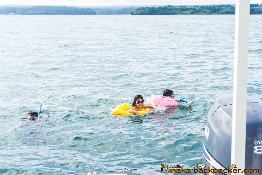 Boat Party in Anamizu Noto Ishikawa 林田恵理子 能登 船上 洋上 パーティー 穴水町 能登 石川県