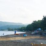 Camp at Mitsukejima island in Suzu Noto Ishikawa 見附島 キャンプ 珠洲 能登 石川県