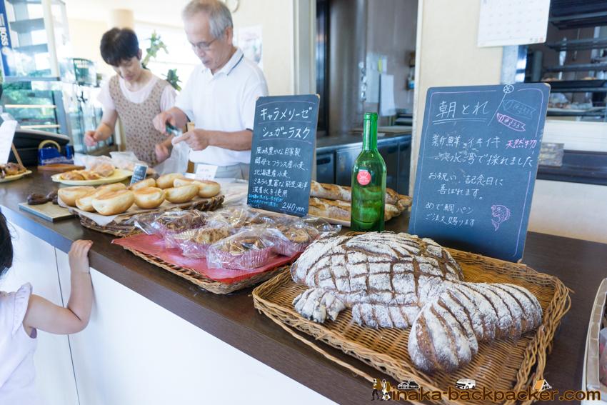 bakery in Anamizu Noto Ishikawa パン屋 メルヘン 穴水町