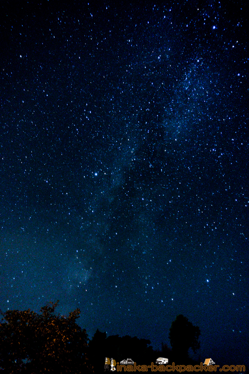 Milky Way in Iwaguruma Anamizu 穴水町 星空 天の川
