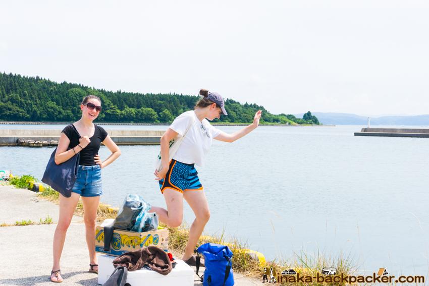 Ocean Boat Party in Anamizu Ishikawa 洋上パーティー