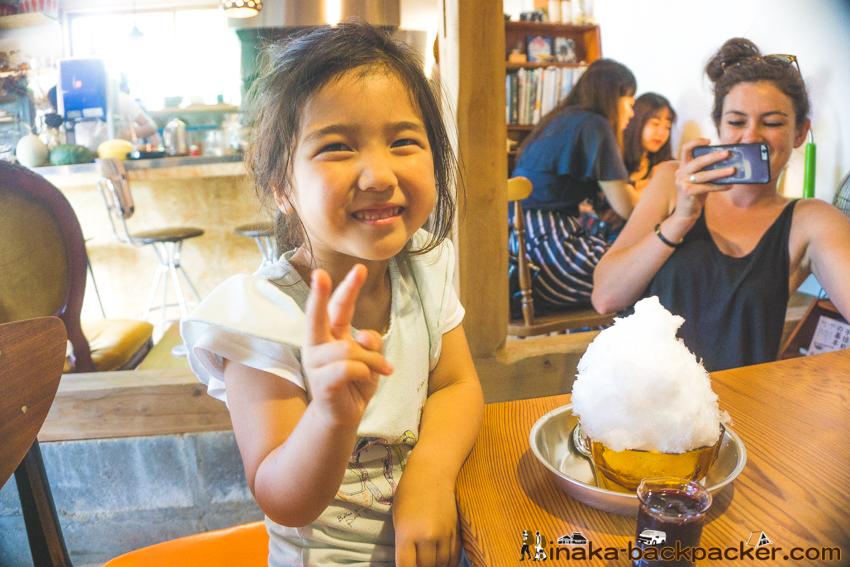 Shaved ice Umineko Parlor in Anamizu Noto Ishikawa かき氷 ウミネコパーラー 穴水町 能登 石川県