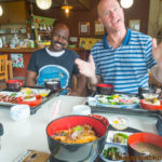 lunch in Suzu Ishikawa 海女食堂 ランチ つばき茶屋 珠洲 能登半島 石川県