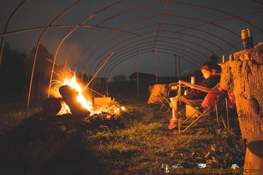薪火ディナー 薪ライフ 石川県 穴水町 焚火 薪料理 焚火 田舎暮らし