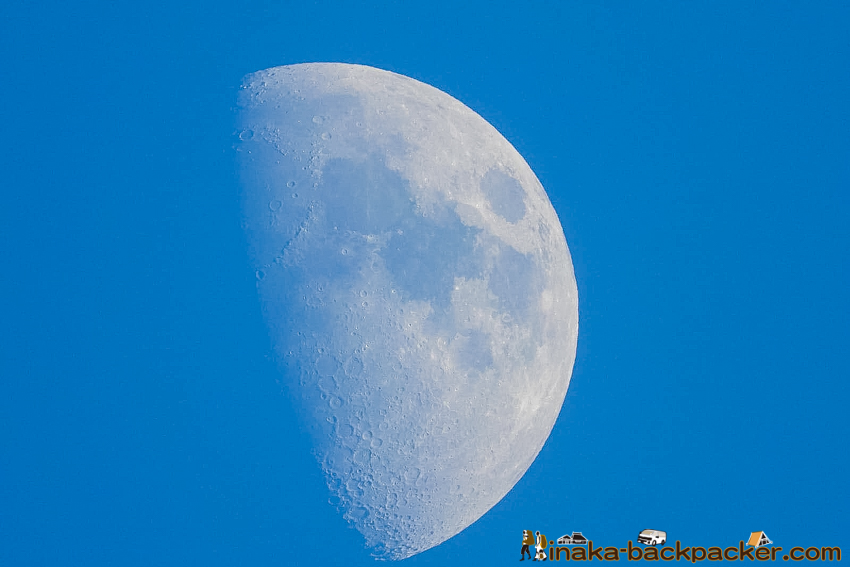 COOLPIX P1000 moon shot 月 表面 写真