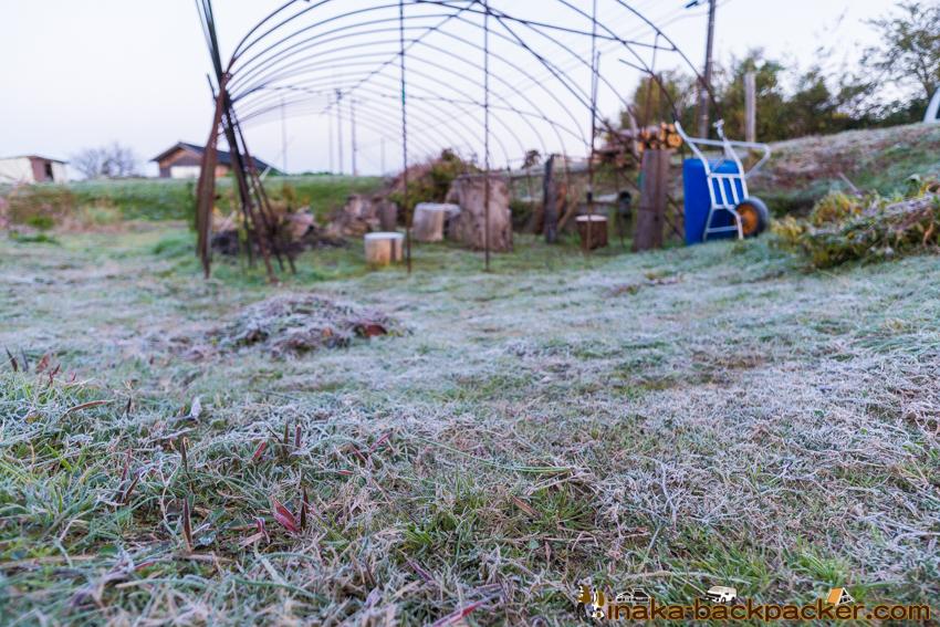 Winter begins in Ishikawa 石川県 穴水町 冬 いつ 霜