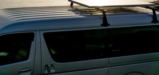Hiace solar panel ハイエース ソーラー