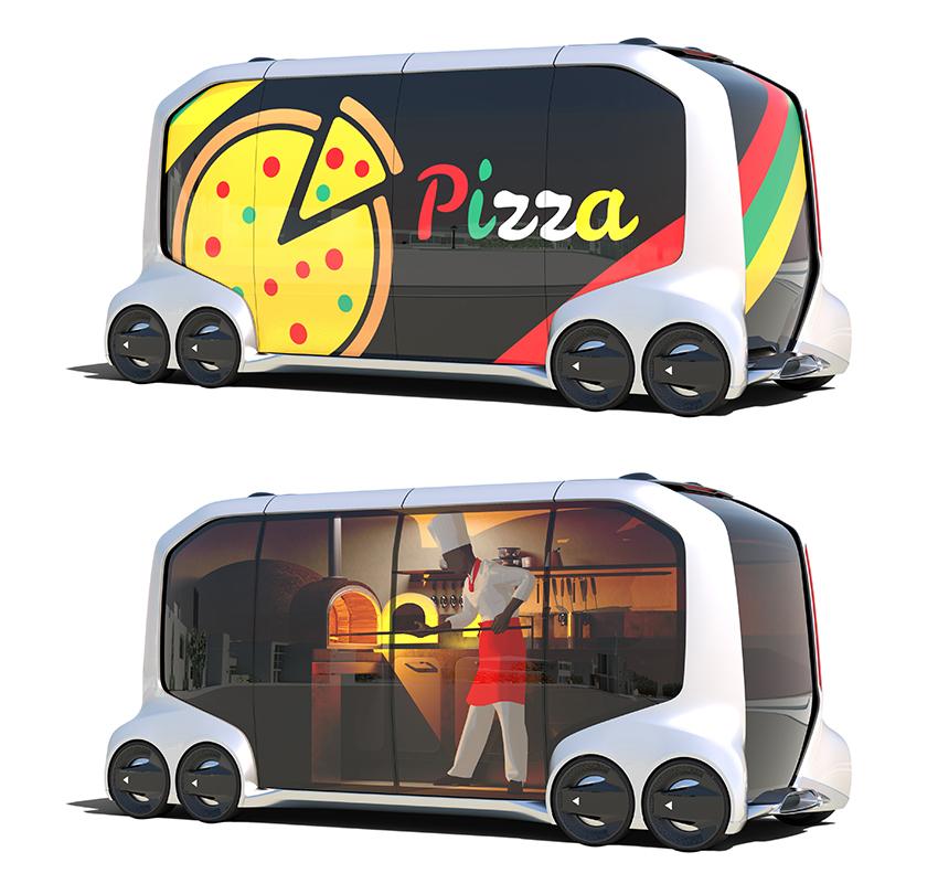トヨタ ピザ 車