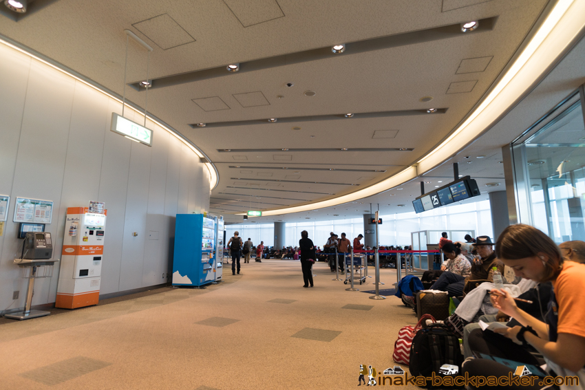 delta airline at narita airport デルタ航空 成田空港 搭乗口