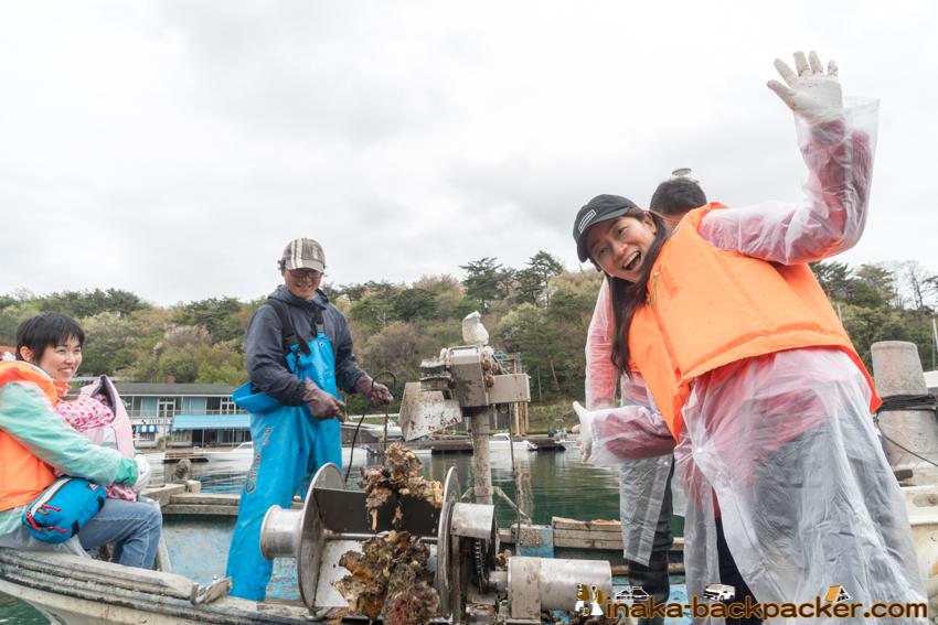 oyster fisherman anamizu noto ishikawa 牡蠣 漁師 体験