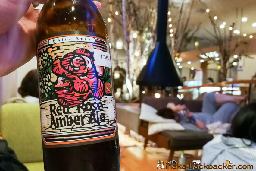 ベアードビール アンバーエール Baird beer amber ale in Japan