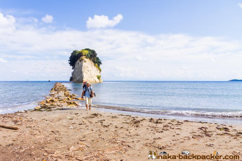 mitsuke jima island noto suzu ishikawa noto 見附島 珠洲 石川県 能登