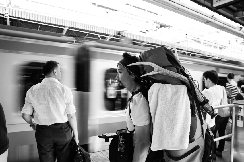 一人旅 バックパッカー solo backpacker travel in Japan
