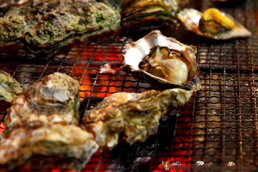 牡蠣 能登 のと かき oyster from Noto Kanazawa Japan