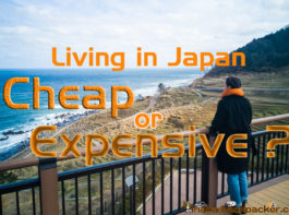 living in japan expensive or cheap